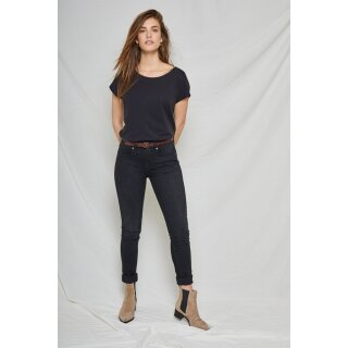Damenjeans Carey Skinny Black