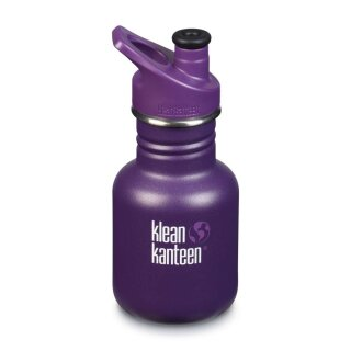 Edelstahlflasche KID KANTEEN 355ml Grape Jelly matt