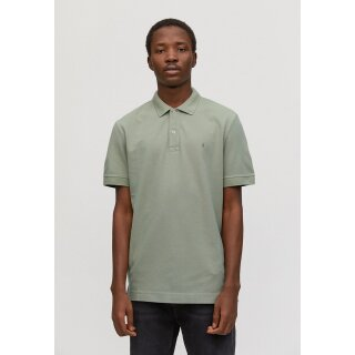 Shirt Herren AANTON SOLID green tea S