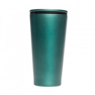 Stainless Steel SlideCUP - forest green