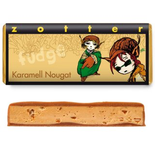 Karamell Nougat in & out