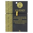 Golden Treasures JOURNEY-Armband (24 Karat vergoldet)